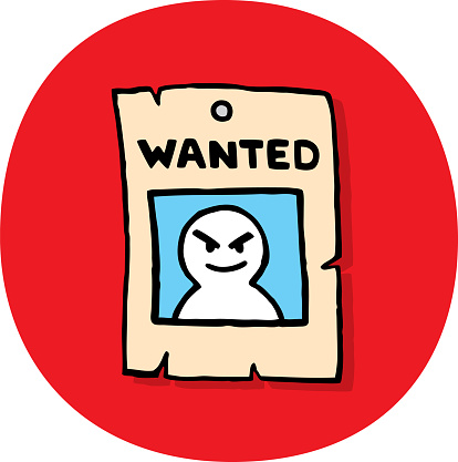 Wanted Poster Doodle