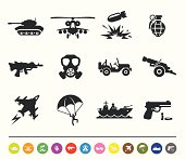 War and army icons | siprocon collection