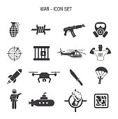 War Icon Set