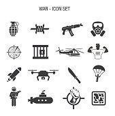 Vector of War Icon Set