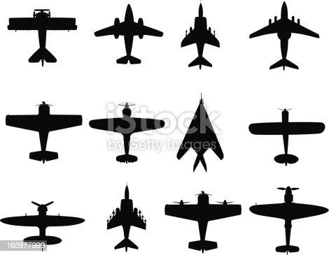 War plane Illustration                                            EPS10
