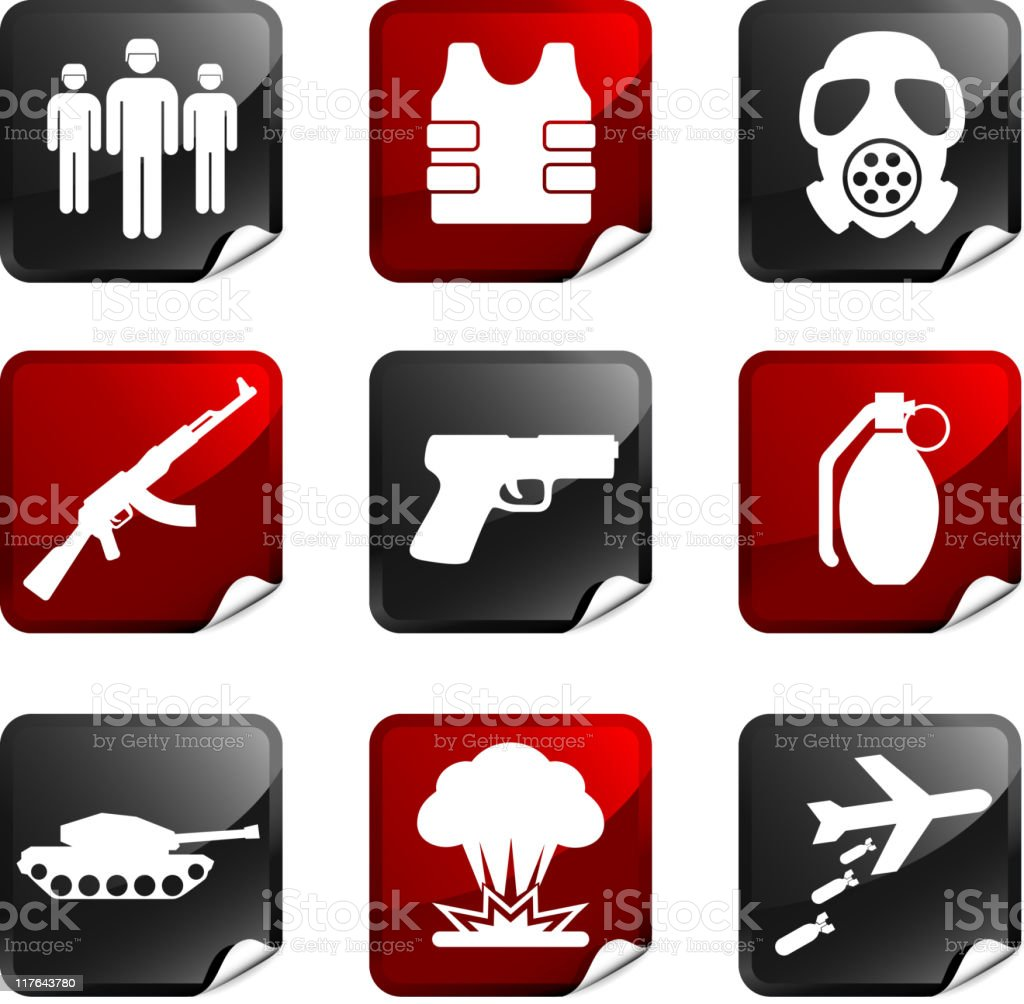 war royalty free icons royalty-free stock vector art