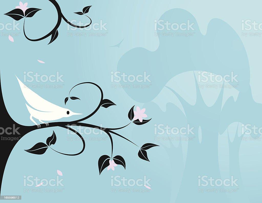 Mosquitero pétalos ilustración de mosquitero pétalos y más banco de imágenes de aire libre libre de derechos