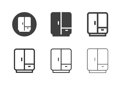 Wardrobe Icons - Multi Series