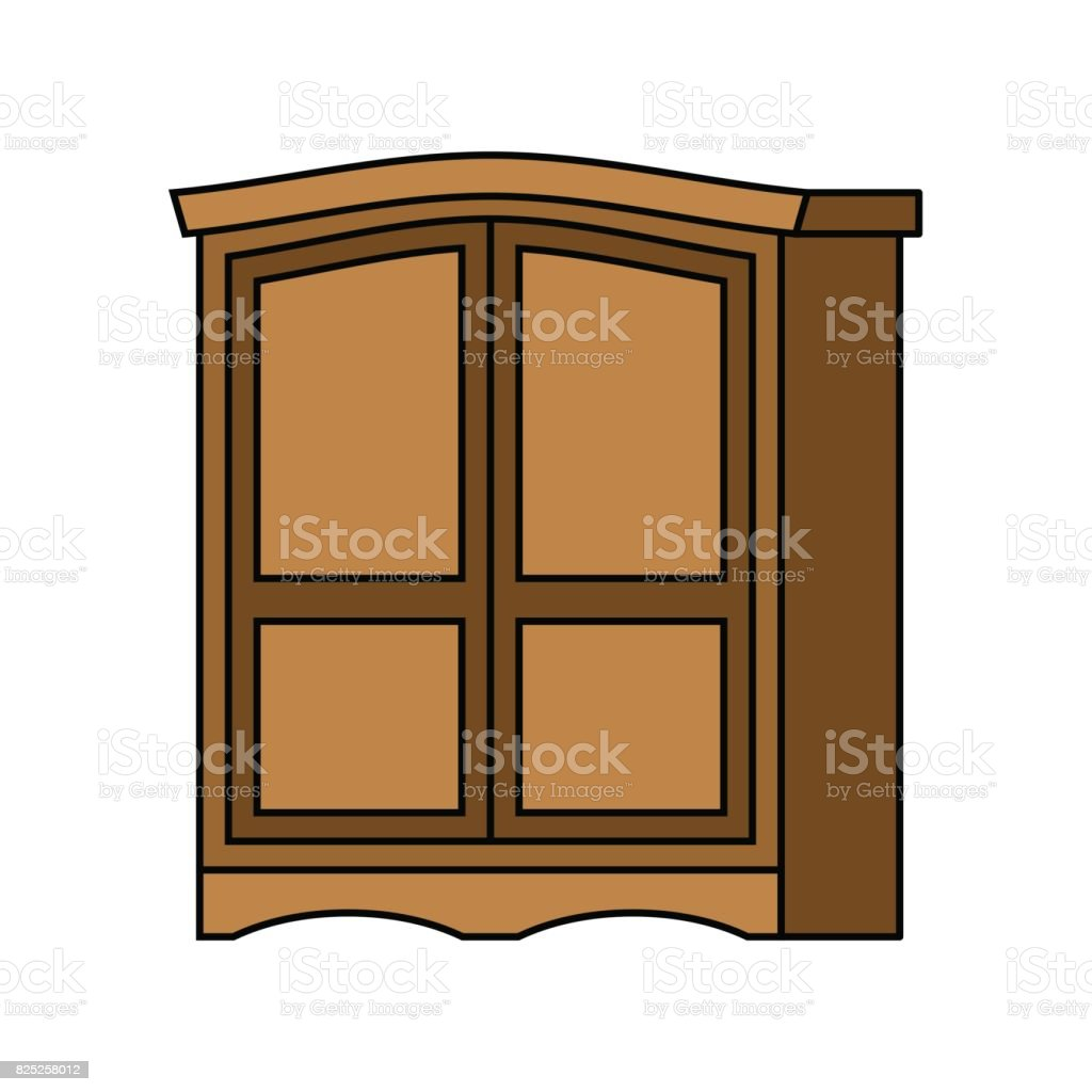 Madera Armario Retro Muebles Para La Ropa Mueble Vintage Antigua  # Muebles Para Ropa