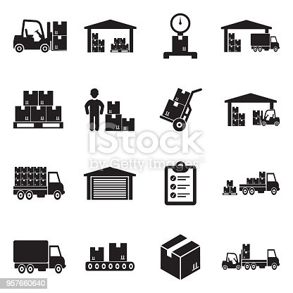 Shipping, Delivery, Work, Warehouse, Storage