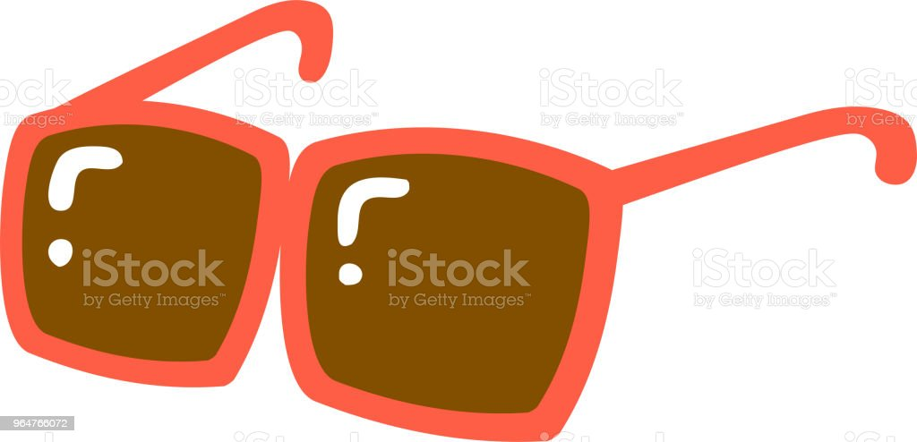 Warm color Cool sunglasses illustration royalty-free warm color cool sunglasses illustration stock vector art & more images of august