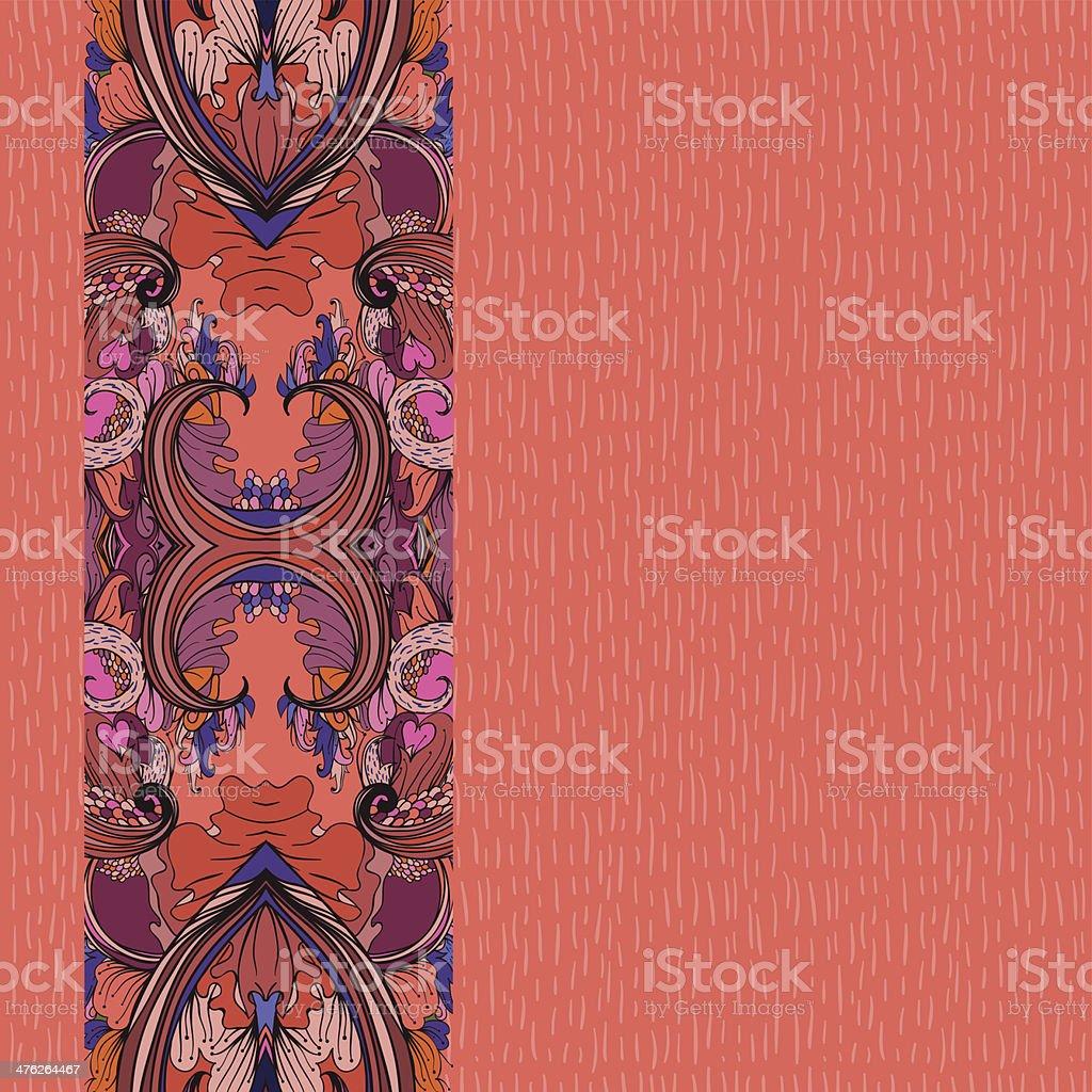 Warm fall day royalty-free stock vector art