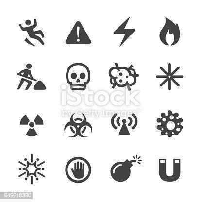 Warning and Hazard Icons