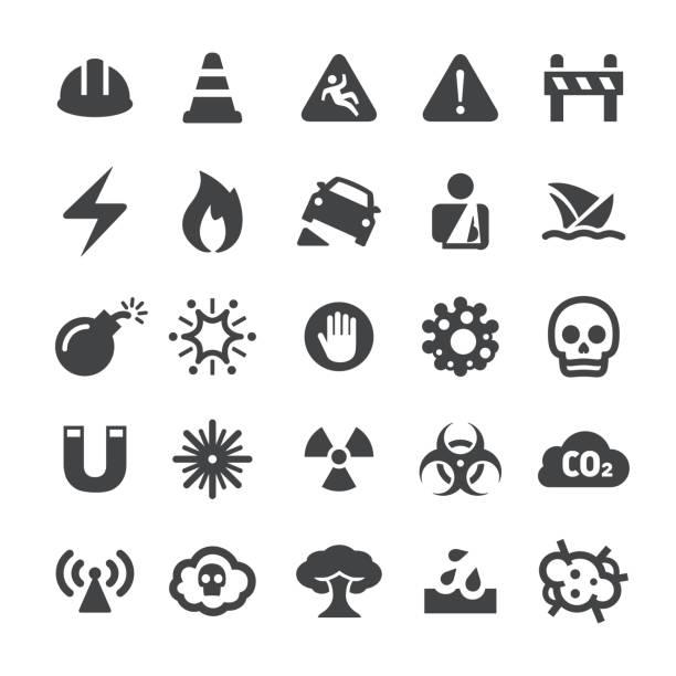 bildbanksillustrationer, clip art samt tecknat material och ikoner med varning ikoner - smart-serien - fire alarm