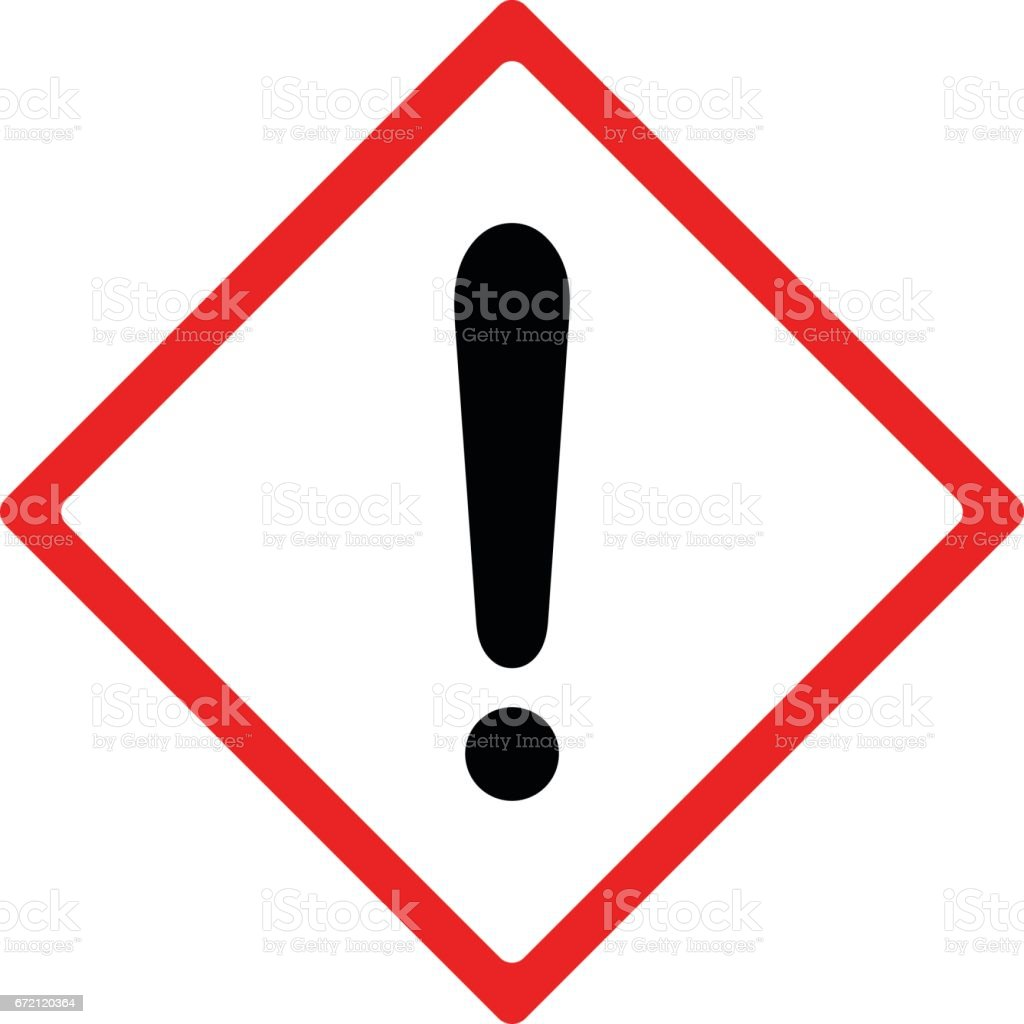 Warning sign vector design vector art illustration