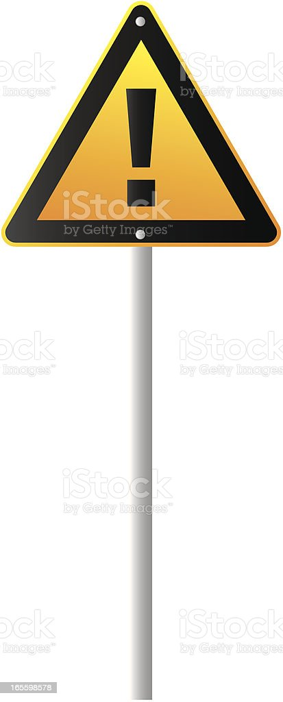 Señal de advertencia ilustración de señal de advertencia y más banco de imágenes de alerta libre de derechos