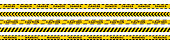 istock Warning stripes set. Danger tapes. Yellow stripes border. Caution tape. Do not cross. 1285639886
