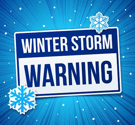 Warning Winter Storm