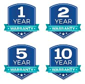 istock Warranty Badges 531477306