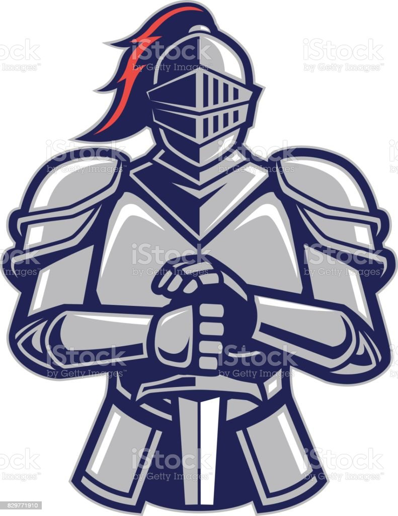 royalty free knight clip art vector images illustrations istock rh istockphoto com free clipart knight on a horse Knight Clip Art Black and White