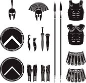 Warriors series - Spartan equipment
