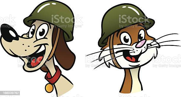 Wartime dog and cat soldiers vector id166009762?b=1&k=6&m=166009762&s=612x612&h=g6oamhrhgvttvr34wi fkmk97gpfgt skhklfqthypo=