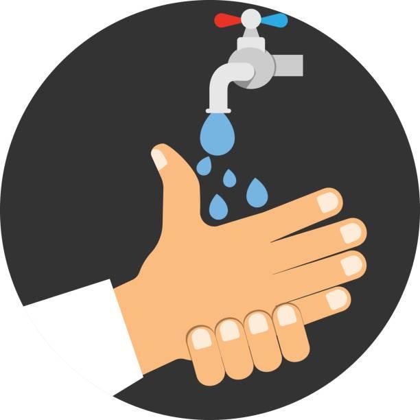 Royalty Free Hand Hygiene Hospital Clip Art Vector Images
