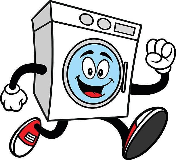 Waschmaschine Läuft Aus Stock Vektoren Und Grafiken Istock