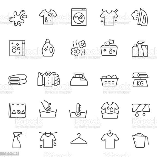 Washing clothes laundry linear icon set hand and automatic cleaning vector id1143540993?b=1&k=6&m=1143540993&s=612x612&h=u2e0slab1tphxrl7pz3myzqzqwpxpjo9is axjqed1e=