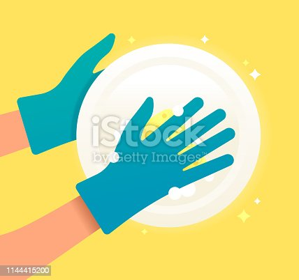 istock Washing Dishes Cleaning 1144415200