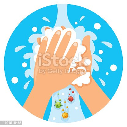 istock Washing Hands For Daily Personal Care 1194515466