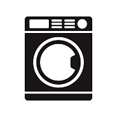 A black glyph icon on a transparent background. You can place onto any coloured background (no white box behind icon). File is built in CMYK for optimal printing with a 100% black fill.