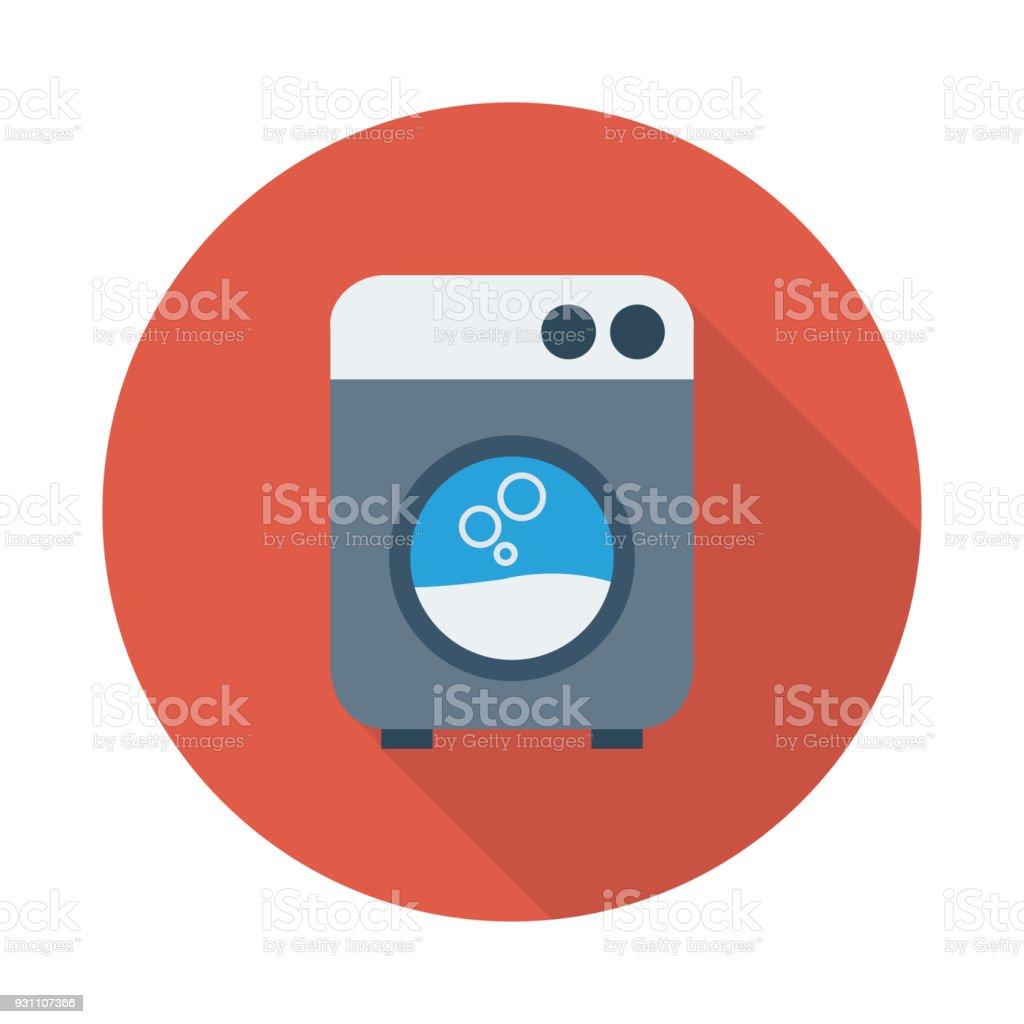 çamaşır makinesi - Royalty-free ABD Vector Art