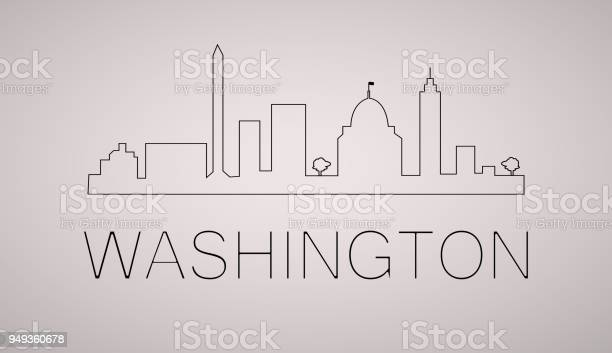 Washington dc city skyline black and white silhouette vector with vector id949360678?b=1&k=6&m=949360678&s=612x612&h=a2dlahpko d03x5a2umr0q9w1tt1a9yy4zdd8 s9kcs=