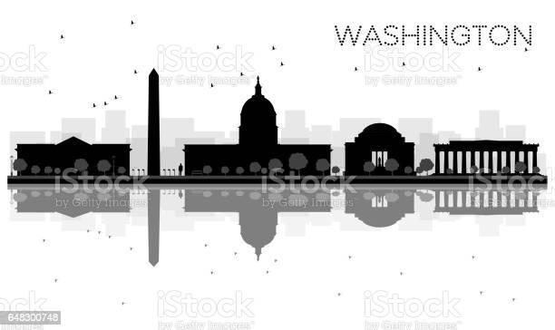 Washington dc city skyline black and white silhouette with vector id648300748?b=1&k=6&m=648300748&s=612x612&h=km ril5r3lkkjakurhv79kg7rfri f84q2bhotlang4=