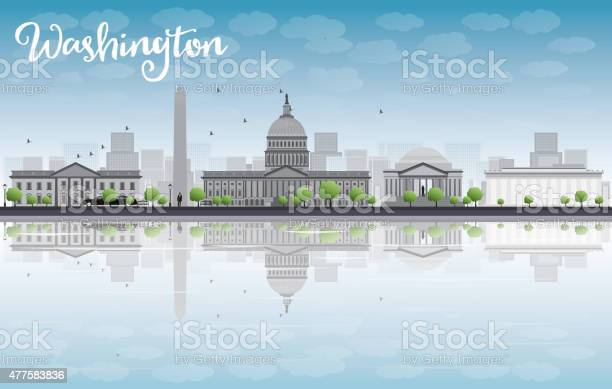 Washington dc city skyline with cloud and blue sky vector id477583836?b=1&k=6&m=477583836&s=612x612&h=antnkd8589gxnp4oy 71  duec8bodhc3qajcqnqxsk=