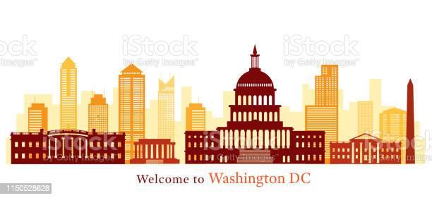 Washington dc landmarks skyline and skyscraper vector id1150528628?b=1&k=6&m=1150528628&s=612x612&h=pabcfgmvpfagjpajjtvnw6iopi4cxdfdrhqq5miotwe=