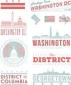 Washington D.C. Typography