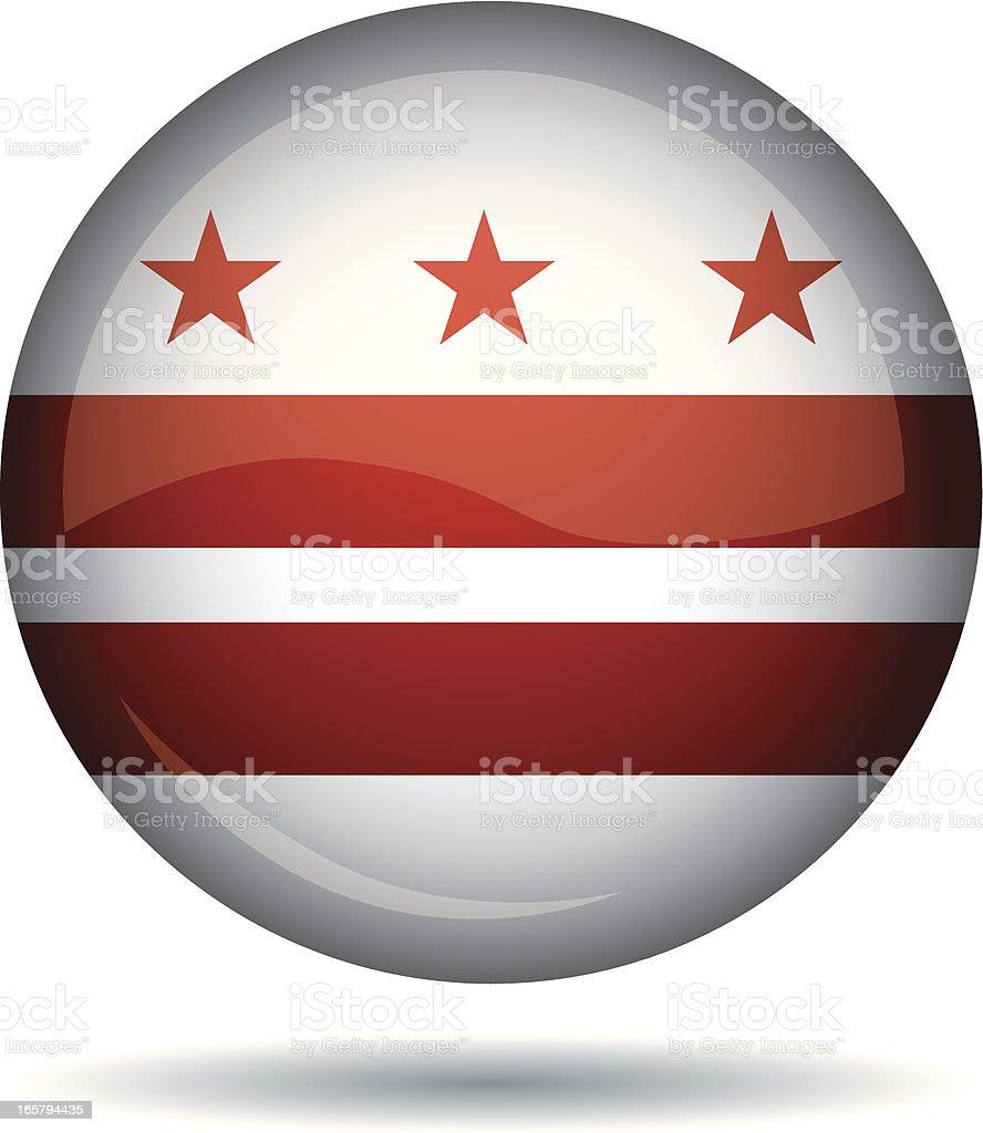 Washington flag royalty-free stock vector art
