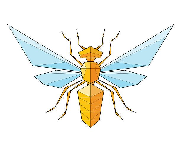 illustrazioni stock, clip art, cartoni animati e icone di tendenza di vespa illustrazione - deadly sings