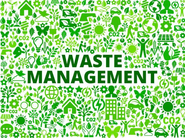 abfallwirtschaft environmental conservation symbol vektormuster - altglas stock-grafiken, -clipart, -cartoons und -symbole