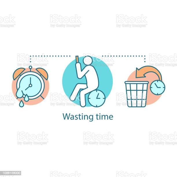 Wasting time icon vector id1088158000?b=1&k=6&m=1088158000&s=612x612&h=f6ntmzaha4ke2wcmblr1y tfhjezibjyvfr6r5xcbry=