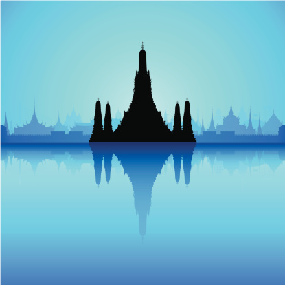 Wat Arun, Thailand (Complete, Detailed, Moveable Buildings)