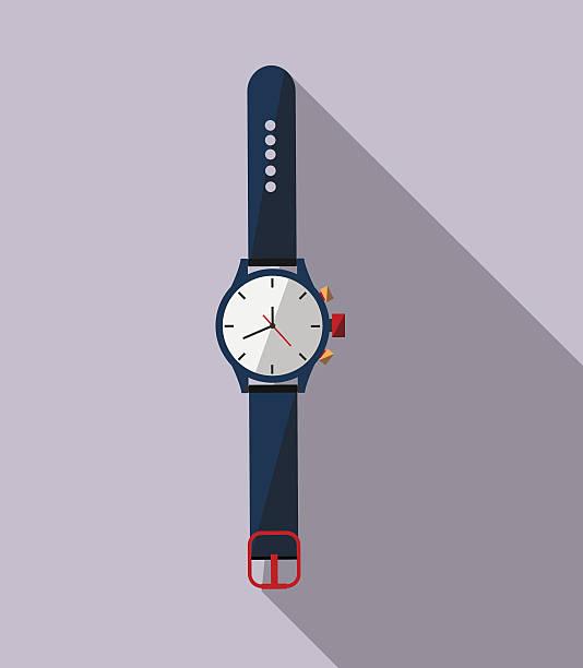 bildbanksillustrationer, clip art samt tecknat material och ikoner med watch icon - armbandsur