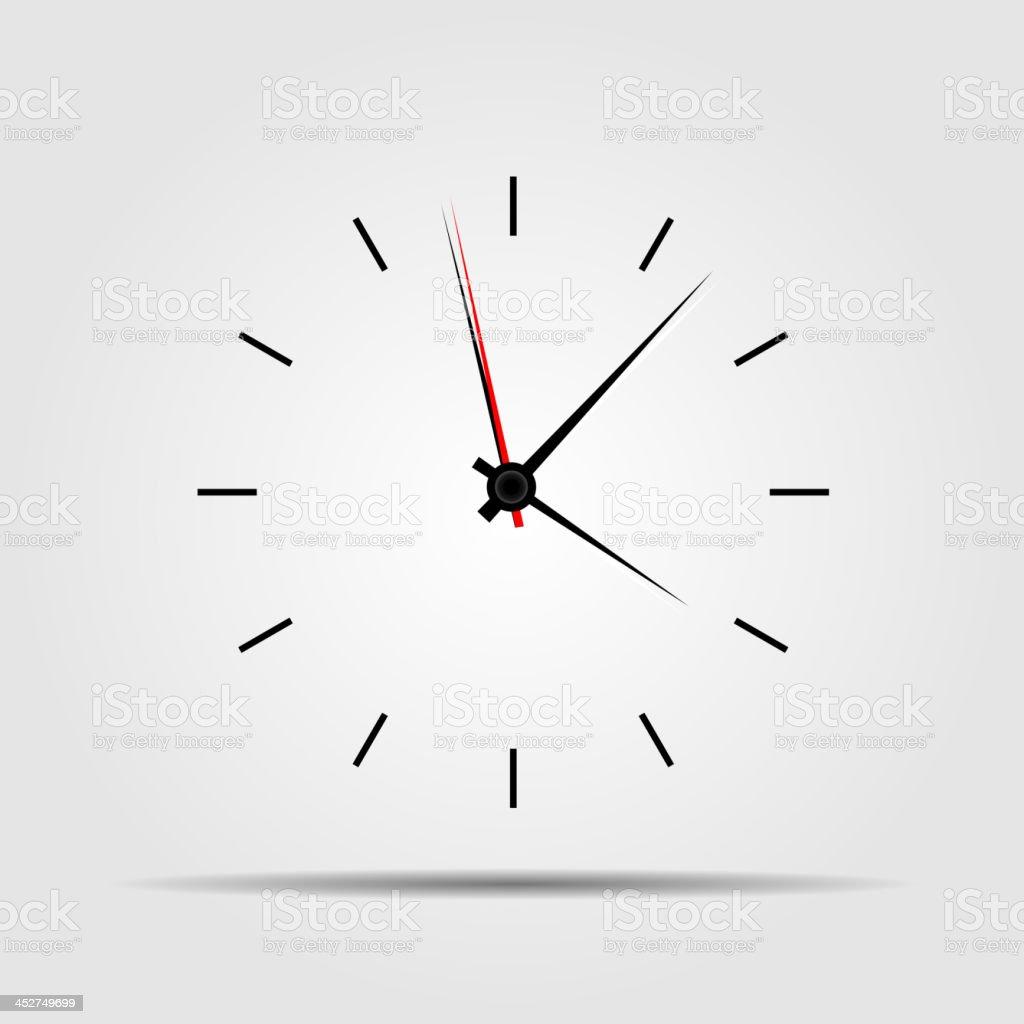 watch icon vector illustration. vector art illustration