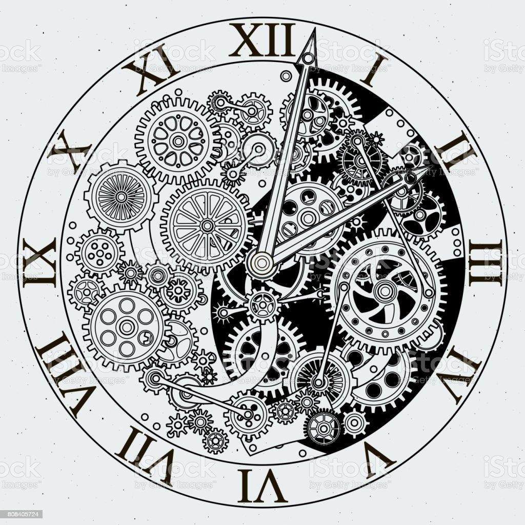 15 785 Clock Gears Illustrations Clip Art Istock