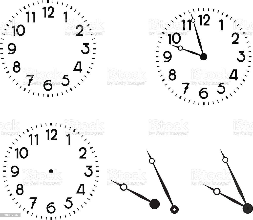 Watch vector art illustration