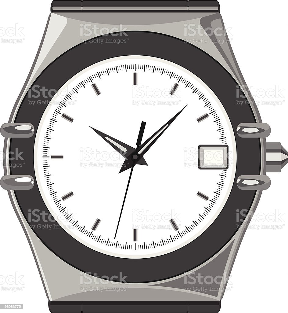 watch royalty-free watch stock vector art & more images of color image