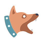 Watchdog flat illustration