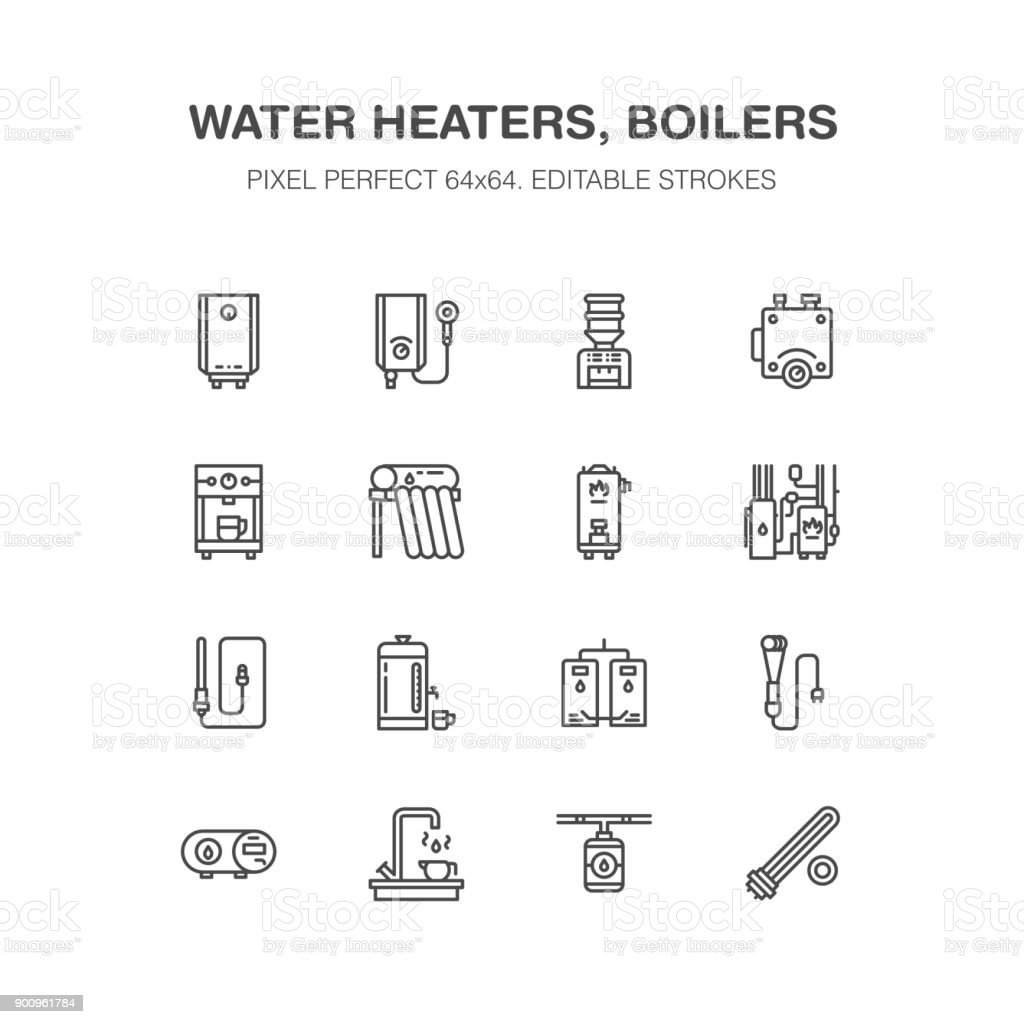 Water Boiler Thermostat Electric Gas Solar Heaters And Other House ...