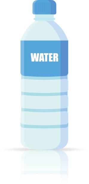 Royalty Free Water Bottle Label Clip Art, Vector Images ... Water Bottle Clip Art Svg