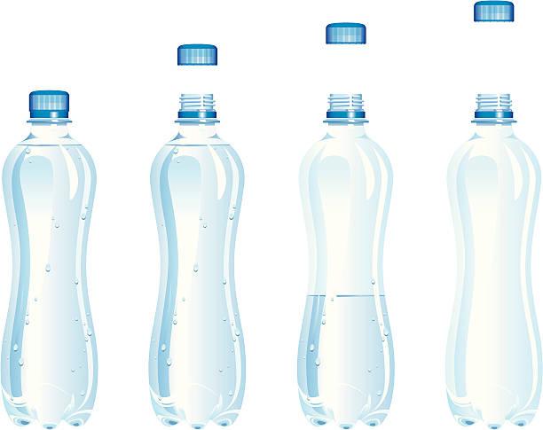 ウォーターボトルの - ペットボトル点のイラスト素材/クリップアート素材/マンガ素材/アイコン素材