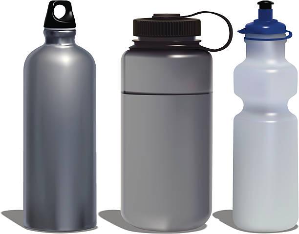 illustrations, cliparts, dessins animés et icônes de bouteilles d'eau - bouteille d'eau