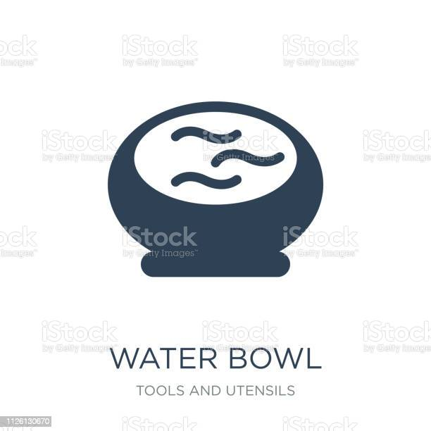 Water bowl icon vector on white background water bowl trendy filled vector id1126130670?b=1&k=6&m=1126130670&s=612x612&h=jmh62mrup7cqmighfnkbewl7puvj4ryzmhkvowi8918=